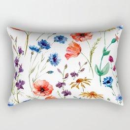 Floral Madness Rectangular Pillow