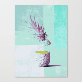 Pineapple tropicana Canvas Print