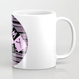 I Love My Bed in pink Coffee Mug