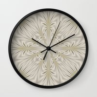 fireworks Wall Clocks featuring Fireworks by Lena Photo Art
