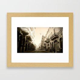 Old Modern Framed Art Print