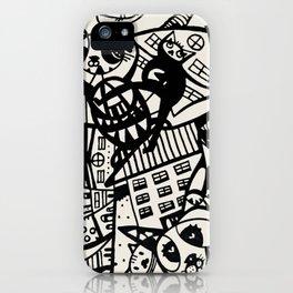 Alley Katz iPhone Case