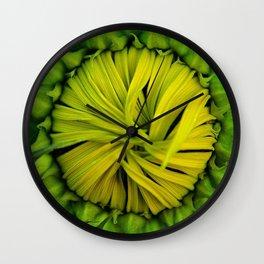 Baby Sunflower Wall Clock