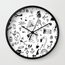 pattern ll Wall Clock