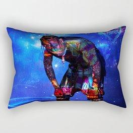 travis astroworld tour 2019 merah Rectangular Pillow
