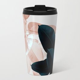 Plant Leaves, Tropical Leaves, Botanical Travel Mug
