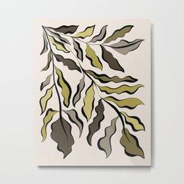 Green Leaves #2 Metal Print