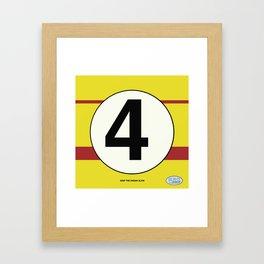 SRC Preparations. Racecar Rebels. 4 Framed Art Print