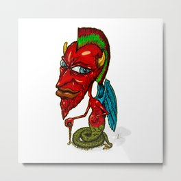 Diablillos in full color 001 Metal Print