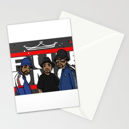 Get Down with the Kings Stationery Cards