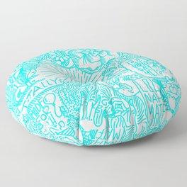 Free Form Floor Pillow