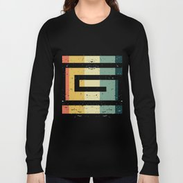 Colorful Spiral Art Gift Idea for Shirts and other Art Products Birthday Friends and Art Fans Hypno Long Sleeve T-shirt