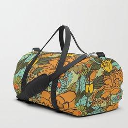 retro garden Duffle Bag