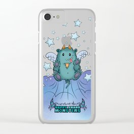 Twinkle Toes the Happy Chaos Monster Clear iPhone Case