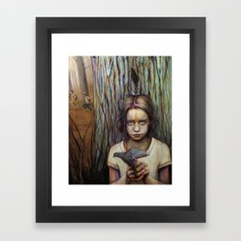 Kierra Framed Art Print
