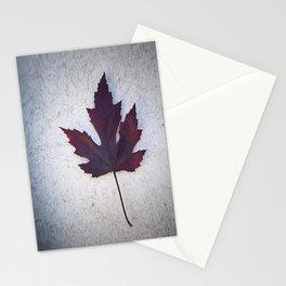 Maple Leaf II Stationery Cards