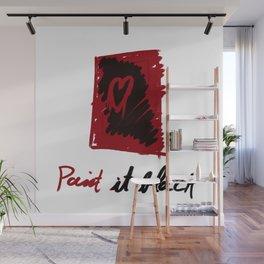 Paint it black Wall Mural