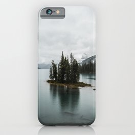 Maligne Lake   Landscape Photography   Wanderlust   Travel   Adventure   Alberta   Canada   Mountain iPhone Case