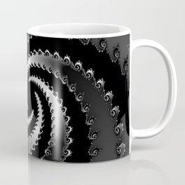 Dark Vortex Fractal Coffee Mug