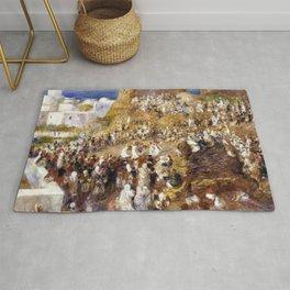 Pierre-Auguste Renoir - The Mosque - Digital Remastered Edition Rug