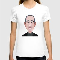 seinfeld T-shirts featuring Comics of Comedy: Jerry Seinfeld by XK9 Works