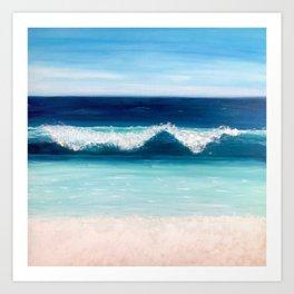 Cabo Blue Art Print