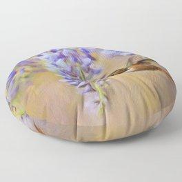 Wisteria Elegance Floor Pillow