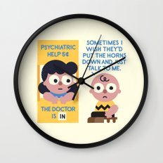 Muted Affection Wall Clock