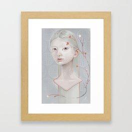Japanese Blossom Framed Art Print