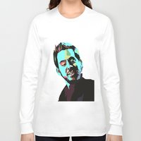 mike wrobel Long Sleeve T-shirts featuring Mike Shinoda by Lyre Aloise