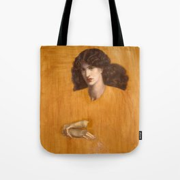 Dante Gabriel Rossetti, The Lady of Pity, 1881 Tote Bag