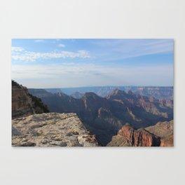 Cliff's Edge at Grand Canyon Canvas Print