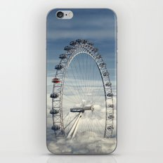 Ride Above the Clouds iPhone & iPod Skin