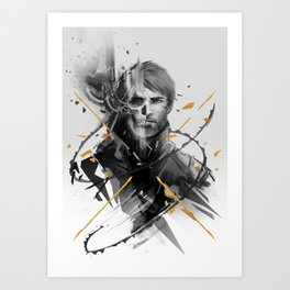 Corvo Thanatos Art Print