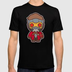Outlaw Mens Fitted Tee Black SMALL