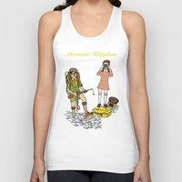 moonrise kingdom Tank Tops featuring Moonrise Kingdom by Vincent Galea