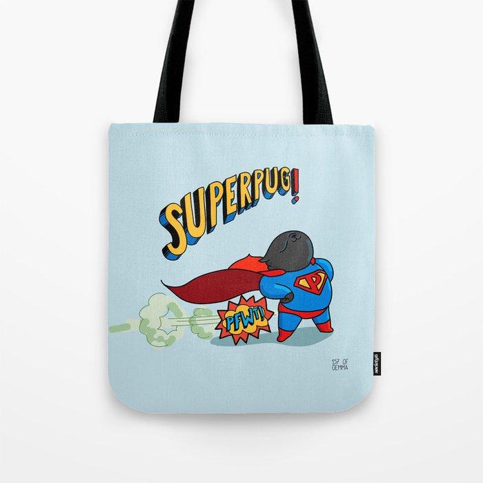 superpug! Tote Bag
