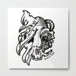 Sweet Kitty Metal Print