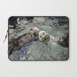 Sea Otters Laptop Sleeve