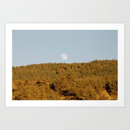 Harvest Moon Art Print