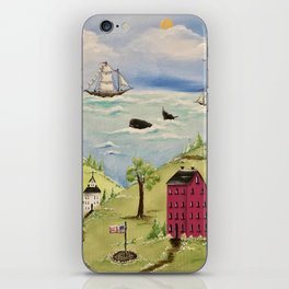 Whale Watching iPhone Skin