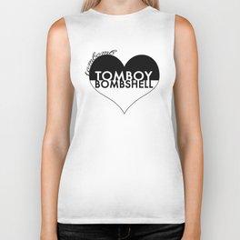 TOMBOY HEART BOMBSHELL Biker Tank