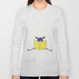 Little Girl Reading Long Sleeve T-shirt