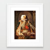 eagle Framed Art Prints featuring Eagle by Matthew Broussard