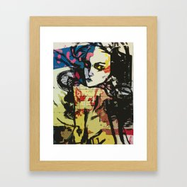and Juliet, my favourite model, her mother was an American Framed Art Print