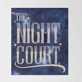 The Night Court Throw Blanket
