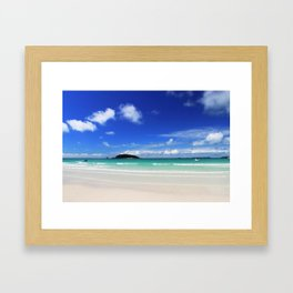 BEacH Landscape Framed Art Print