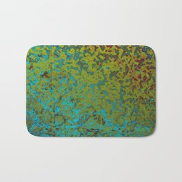 Colorful Corroded Background G292 Bath Mat