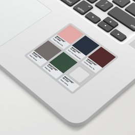MANTONE® Colour Palette Sticker