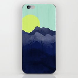 Sunset Mountain iPhone Skin